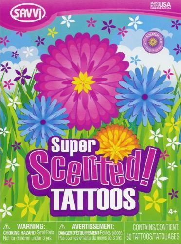 Flower Scented Tattoos